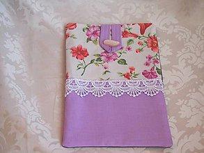 Na tablet - Kvetinkový  obal na tablet - 5221407_