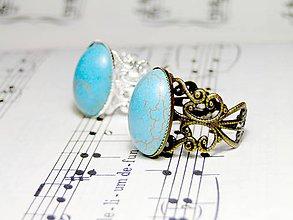 Prstene - Tyrkenite Yellow Copper - 5226328_