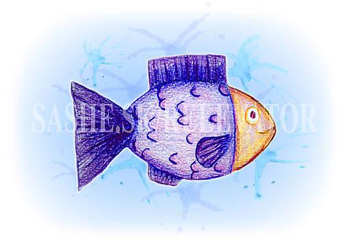 Podložky pod zošit Morský svet - rybka