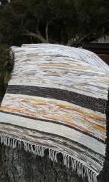 Úžitkový textil - Koberec svetlohnedý 106x75cm - 5224961_