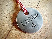 Kľúčenky - CAPTAIN?! - 5230043_
