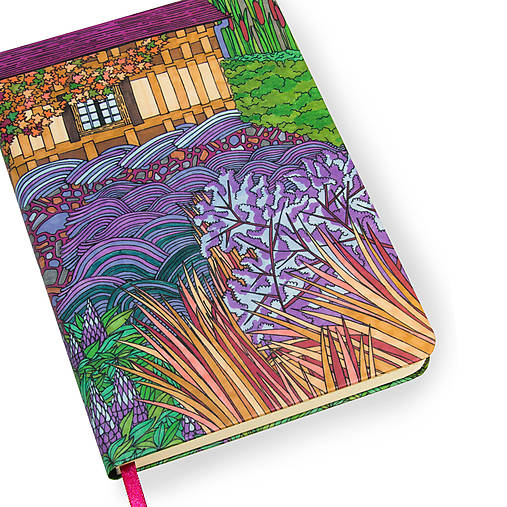 Zápisník A5 Anglická záhrada