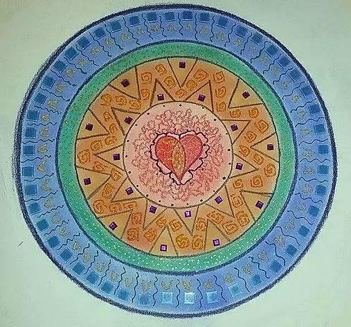 Mandala feng shui zuzickaaak handmade kresby for Cuadros mandalas feng shui decoracion mandalas