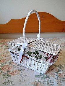 Košíky - Piknik u babičky - 5228011_