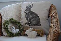 Úžitkový textil - Veľkonočný poťah na vankúš - 5228557_