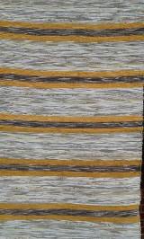 Koberec svetlo hnedý s žlto hnedou kombináciou 160x75cm