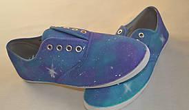 Obuv - galaxy tenisky - 5232952_