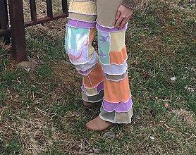 Nohavice - hippienožky Marshmallow-cukríkové - 5233188_