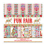 - V zľave z 2,20€ / Papierová sada 15,2x15,2cm Fun Fair 12ks - 5230864_