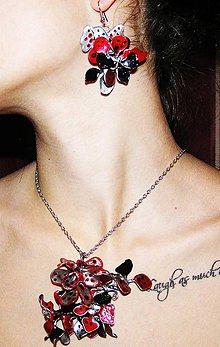 Náhrdelníky - retro silver flowers náhrdelník - 5235089_