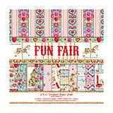 - V zľave z 6,50€/ Papierová sada 30,5x30,5cm Fun Fair 12ks - 5236089_