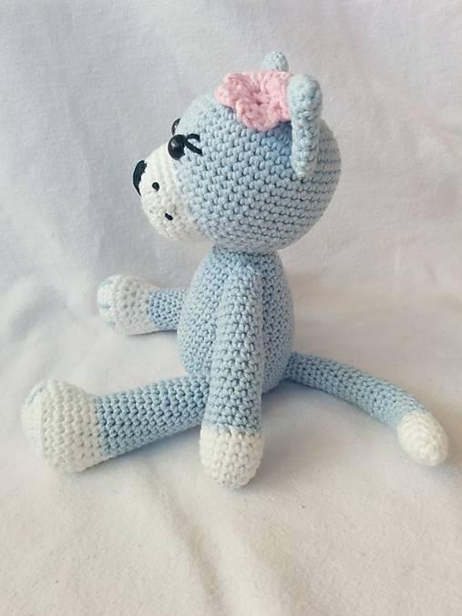 be93d79fb83b Háčkovaná mačička Tina   cauchynka - SAShE.sk - Handmade Hračky