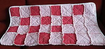 Textil - Bavlnená deka pre dievčatko... - 5236509_