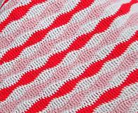 Textil - Bavlnená deka pre dievčatko... - 5236513_