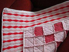 Textil - Bavlnená deka pre dievčatko... - 5236514_
