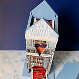 Nádoby - Domček na čaj - Modrý obchodík - 5234016_