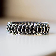 Šperky - Pásovec - pánský náramek - 5240914_