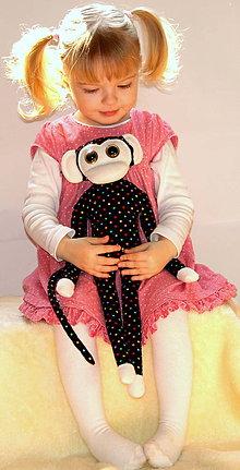 Hračky - opička gulička - 5238012_
