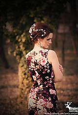 Venčeky - Kvetinová  čelenka z kolekcie Italian charm - 5240878_