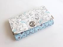 Peňaženky - Něžně romantičtí ptáčci II - 5240882_