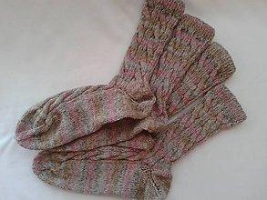 Obuv - Ponožky-75%vlna - 5240992_