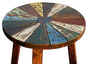 Nábytok - Stolík farebná patina - 5240100_