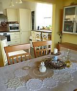 Úžitkový textil - krajkovaný stôl - 5237206_
