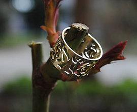 Prstene - 4 ruže - 5242920_