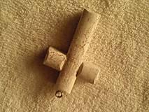 Náhrdelníky - Krížik - prívesok. - 5244072_