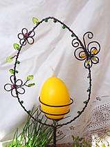 veľkonočná jarná kraslica-vajíčko...zápich