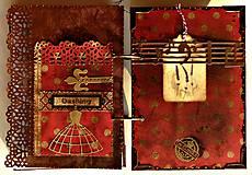 Papiernictvo - Červená retro bodka-Diár 2021 - 5244578_