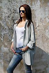 Kabáty - Olá - 10 odtieňov sivej - 5241709_
