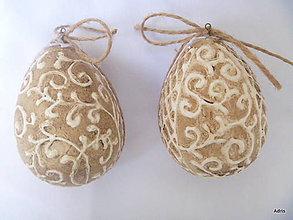 Dekorácie - Patinované vajíčka - 5248957_