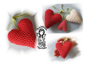 Návody a literatúra - Háčkované Srdce 3D - návod 26 - 5248756_
