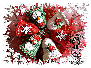 Návody a literatúra - Vianočné Zvončeky - návod 76 - 5248793_