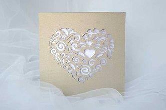 Papiernictvo - Svadobné oznámenie Aurelia - 5246093_