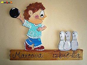 Tabuľky - Menovka - bowling - 5245927_
