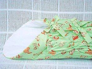 Textil - Zavinovačka bledo zelená - 5245750_