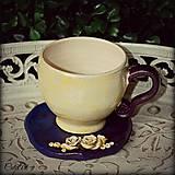 Káva v kvete - unikátna šálka