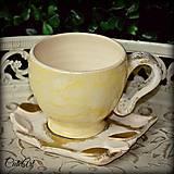 Jemná káva - unikáta šálka