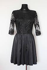 Šaty - Koktejlové šaty s tylovou krajkou rôzne farby - 5248132_