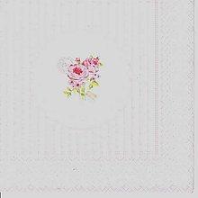 Papier - 406 ružičky - 5246043_