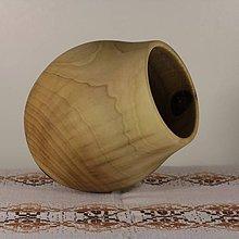 Dekorácie - Váza z orechového dreva - 5249625_