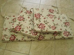 Úžitkový textil - Sedáky pre Beatku - 5245766_
