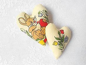 Dekorácie - Easter hearts (bunny) - 5251899_