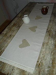 Úžitkový textil - Obrus - štóla 140x40 cm - 5251853_