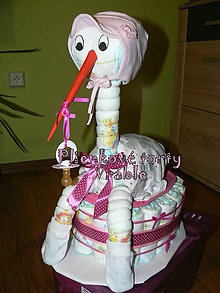 Detské doplnky - Plienkové torty Vráble - 5251837_