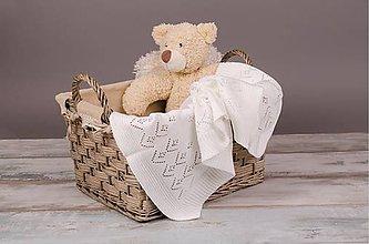 Textil - Deka pre Bábätko na leto, OEKO-TEX® - Biela - 5253181_