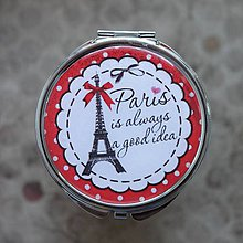 Zrkadielka - Paris is always a good idea - 5252243_