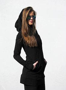 Mikiny - FNDLK triko/míko-šaty Hood 088 - 5250693_